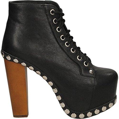 Jeffrey Campbell , Chaussures de sport d'extérieur pour femme noir noir 36 EU Noir