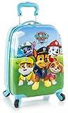 Nickelodeon Paw Patrol nuovissimo multicolore coperchio laterale da ragazzo bagagli Carry On spinner 45,7cm