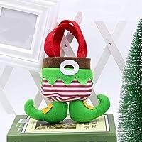 KYWBD Caja de Manzana Navidad,Caja de Regalo de nochebuena Caja del Caramelo-E