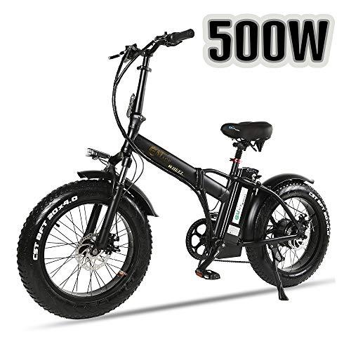 XXCY faltendes elektrisches Fahrrad 500w E-Bike 20