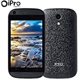 No Contract Smartphones Dual SIM (Standard + Micro) Mini 3.5 Inch Backup Phone Dual Core 1.0 Ghz MTK6571 512MB RAM 4GB ROM 2G GSM 3G WCDMA Android 4.2 Mobile Phones 1250mAh Celular with Wifi Bluetooth Dual Camera for Elderly Kids Seniors Beginners (Black)