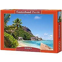 Castorland Tropical Beach, Seychelles 3000 pcs 3000pc(s) - Puzzles (Seychelles 3000 pcs, Jigsaw puzzle, Landscape, Children & Adults, 9 year(s), Boy/Girl, Indoor)