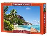 CASTORLAND Tropical Beach, Seychelles 3000 pcs 3000pieza(s) - Rompecabezas (Seychelles 3000 pcs,...