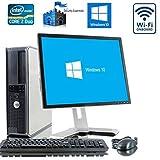 """Dell Dual Core PC Bündel mit Microsoft Windows 10 Home und - 17 """" Monitor - NEU Tastatur und Maus"""