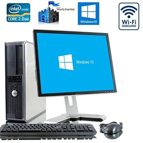 Dell Dual Core PC Bündel mit Microsoft Windows 10 Home und - 17