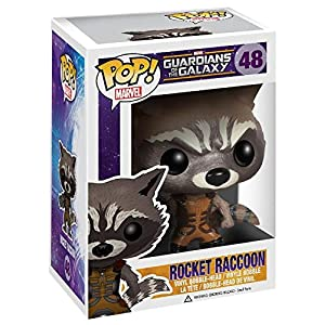 Funko Pop Rocket Raccoon (Guardianes de la Galaxia 48) Funko Pop Guardianes de la Galaxia