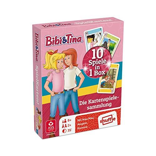 ASS Altenburger 22577507 - Bibi und Tina SpielKarten! - Die Kartenspielesammlung mit 10 Spielen in 1 Box