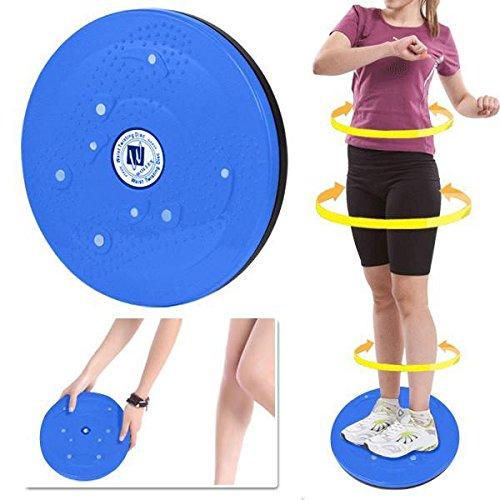 checknow Taille & Hüfte Twist Übung Board für Fitness und Blau