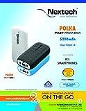 Nextech POLKA 5200mAh Fast Power Bank wi...