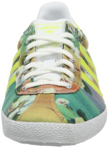 adidas Originals GAZELLE OG WC FARM D67722, Sneaker Donna Bianco (Weiß (RUNNING WHITE FTW / BAHIA GLOW S14 / METALLIC SILVER)
