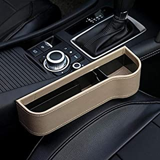 Gereton Auto-Kofferraum-Organizer mit Autositz, Aufbewahrungsbox, Getränkehalter, Handy-Halterung, multifunktionales Auto-Zubehör, D