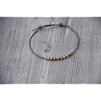 Armband - Facetteperlen - Roségold