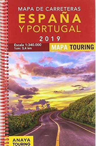 Mapa de Carreteras de España y Portugal 1:340.000, 2019
