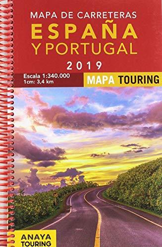 Mapa de Carreteras de España y Portugal 1:340.000