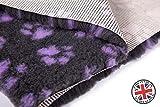 Vetbed nicht Slip ProFleece Original Teppich für Hunde und Katzen Stuhlinkontinenz älteren Kranken 150x 100cm 1820GR Wärmeisolierend, filtert Flüssigkeiten, hält das Haar Trocken grau
