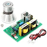 TOOGOO 100w 28khz Ultrasonic Cleaning Transducer Cleaner High Performance +Power Driver Board 220vac