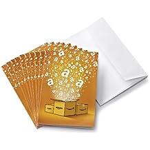 Lotto di 10 Buoni Regalo Amazon.it + biglietti d'auguri - Spedizione gratuita in 1 giorno