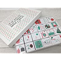 Adventskalender mit Option - gefüllt mit Pralinen & personalisiert