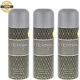 Eternal Love Body Spray, Men, 200ml- Pack of 3