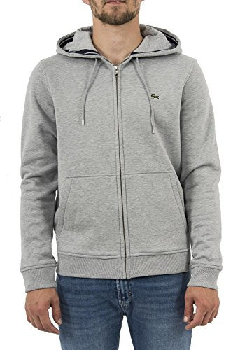 Lacoste Hooded Zipper pluvier Chine/Navy Blue -