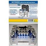 Batteriebox inkl. Batterietester bestückt mit Varta High Energy