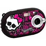 Lexibook DJ028MH Monster High Digitalkamera (5 Megapixel, 3,6 cm (1,4 Zoll) Display, 8MB interner Speicher) schwarz
