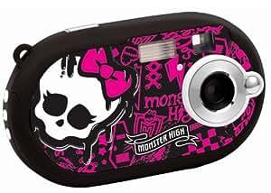 """Lexibook DJ028MH Monster High Appareil photo numérique 5 mégapixels, écran 3,6 cm (1,4""""), mémoire interne 8 Mo (Noir, motif Monster High)"""