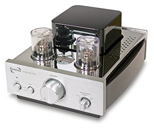 Dynavox VR-307 - Amplificador de audio (Banana connector/Binding posts, 50/60 Hz, 20-40000 Hz, Poder)