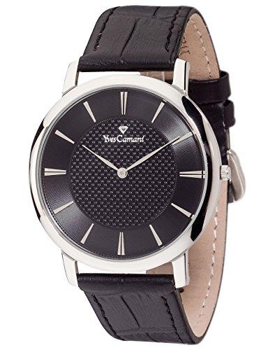 Yves Camani Ciron - Reloj para hombre, color negro