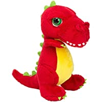 Li'l Peepers 14372 Tyrannosaurus-Rex Dinosaurier von Suki Gifts, Rot 18 cm