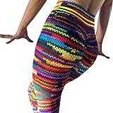 OYSOHE Damen Farbiger Druck Yoga Eignungs, Frauen High Waist Taillen Gamaschen, die Turnhallen Ausdehnungs Sport Hosen Hose Laufen Lassen