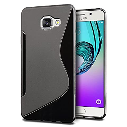 Coque Samsung Galaxy A3 (2016), SLEO Transparent Protection en TPU S-line Incassable Arrière Flexible Silicone Gel Shell Translucide Anti-Rayure Antichoc [Ultra Fit] Souple Housse Etui Coque pour Samsung Galaxy A3 (2016) -