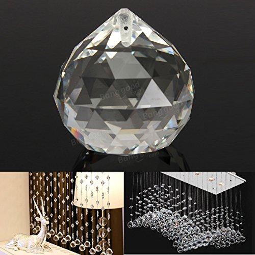 Pegasus 20 mm claro como el cristal bola de lágrima pendiente de la lámpara facetas decoración del hogar bricolaje