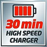 Einhell Akku Schlagschrauber TE-CI 18 Li Power-X-Change (Lithium Ionen, 18 V, 140 Nm, 3 Power LED's, Koffer, inkl. 1,5 Ah Akku und Ladegerät) - 7