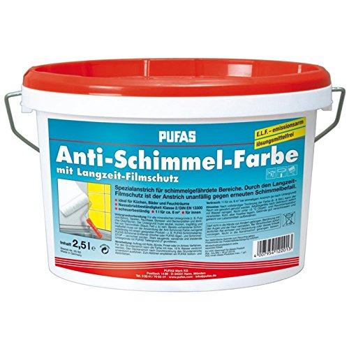 Pufas Anti-Schimmel-Farbe 2,500 L