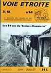 VOIE ETROITE [No 64] du 01/06/1981 -...