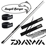Daiwa Ballistic X Spin Spinnrute mit Angel Berger Rutenband (2,40m / 15-50g)