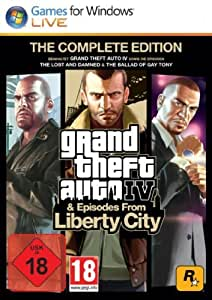Grand Theft Auto IV & Episodes from Liberty City - The Complete Edition [PC Code - Steam]
