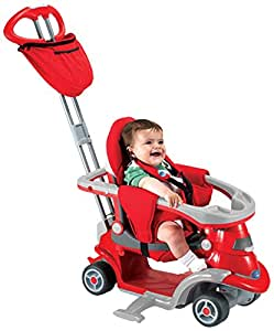 Smart Trike All-in-One Step 3 Tricycle, Red