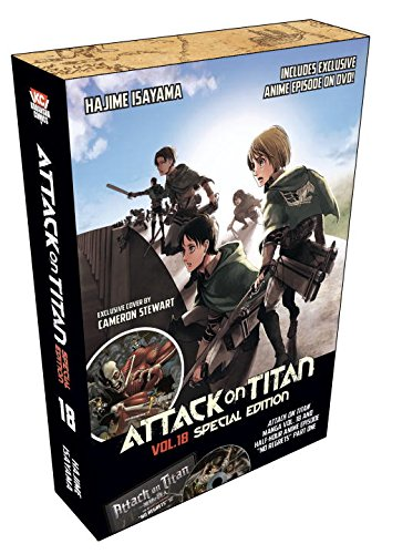 ATTACK ON TITAN 18 SPECIAL ED WITH DVD