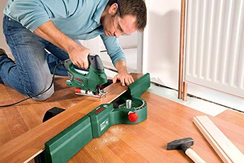 Bosch DIY Stichsäge PST 900 PEL, 1 Sägeblatt T 144 D, Spanreißschutz, CutControl, Transparenter Abdeckschutz, Sägeblattdepot, Koffer (620 W, Schnittiefe 90 mm Holz, 8 mm Stahl) - 6