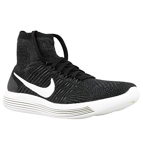 Nike Herren Lunarepic Flyknit Laufschuhe, Blanco (Black/White-Anthracite-Volt), 45 EU (Tops Laufschuhe Nike High)