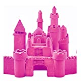 #5: Jewelscart.in 400 Grams Pink Color + 10 Sea Animals Moulds Magic Kinetic Motion Sand For Boys & Girls Clay Replacement