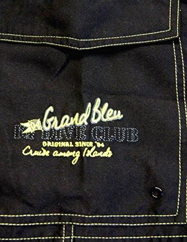 iQ-Company Herren Badeshorts Grand Bleu Anthracite