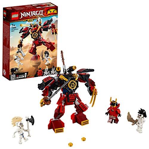 LEGO NINJAGO Le robot samouraï Jeu de construction, 7 Ans...
