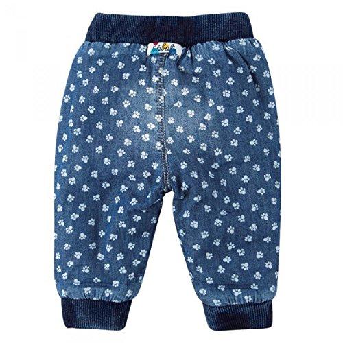 boboli Baby Mädchen Hose, Jeans, denim pant mit Pint in blue, Größe:56 -
