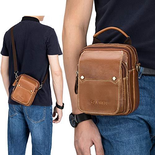 Zoom IMG-2 spaher uomo borsa a spalla