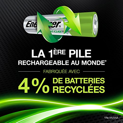 Piles AA rechargeables Energizer...