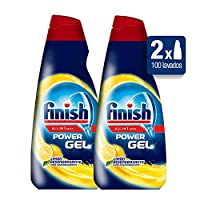 Finish Dishwasher Gel With Lemon–Package Of 2X 1000Ml–Total: 2000Ml