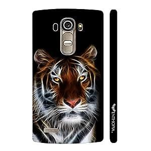 LG G4 ELECTRIFYING TIGER designer mobile hard shell case by Enthopia